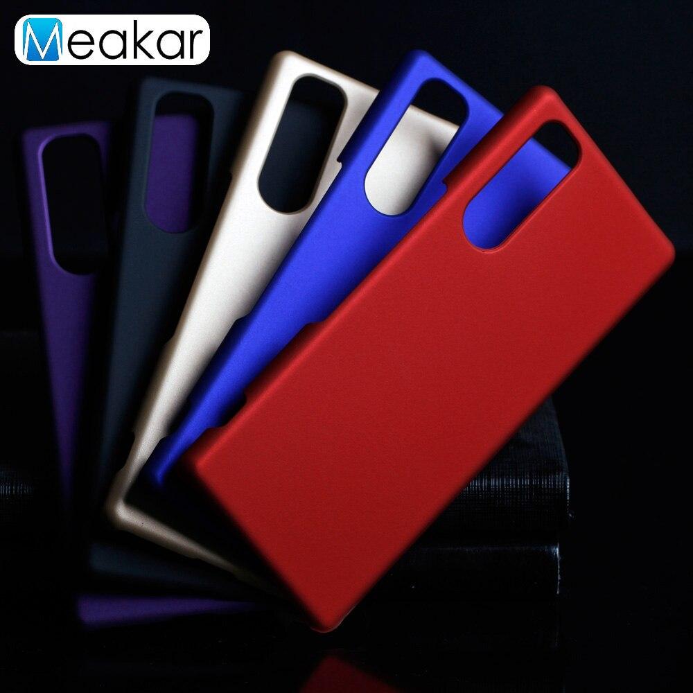 Матовый пластиковый чехол для Sony Xperia 5, чехол для Sony Xperia 5 Xperia5, Задняя панель для телефона, чехол