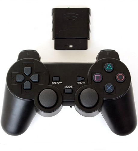 New For SONY PS2 Wireless Controller Bluetooth Gamepad For PlayStation2 Joystick Console For Dualshock2 Transparent Gamepad 2