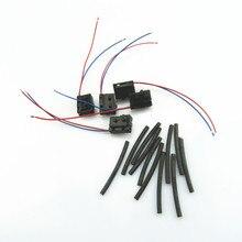 RWSYPL serrure de porte droite   Micro interrupteur et tuyau pour Golf 4 MK4 Passat B5 Bora Polo Touran A6 C6 3BD 998 786