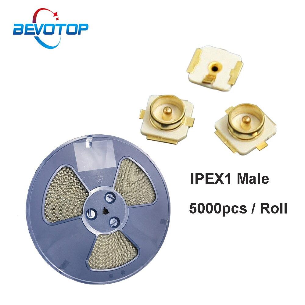 3000 ~ 5000 قطعة/الحزمة uFL u.FL IPX IPEX1 / IPEX3 / IPEX4 MHF4 الذكور التوصيل PCB لحام لوحة ، IPEX PCB RF سلك موصل