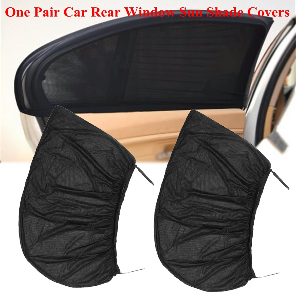 2 uds cubierta para la ventana del coche parasol cortina para Toyota Corolla RAV4 Yaris Honda CRV Juke Nissan X-trail Tiida nota Accesorios