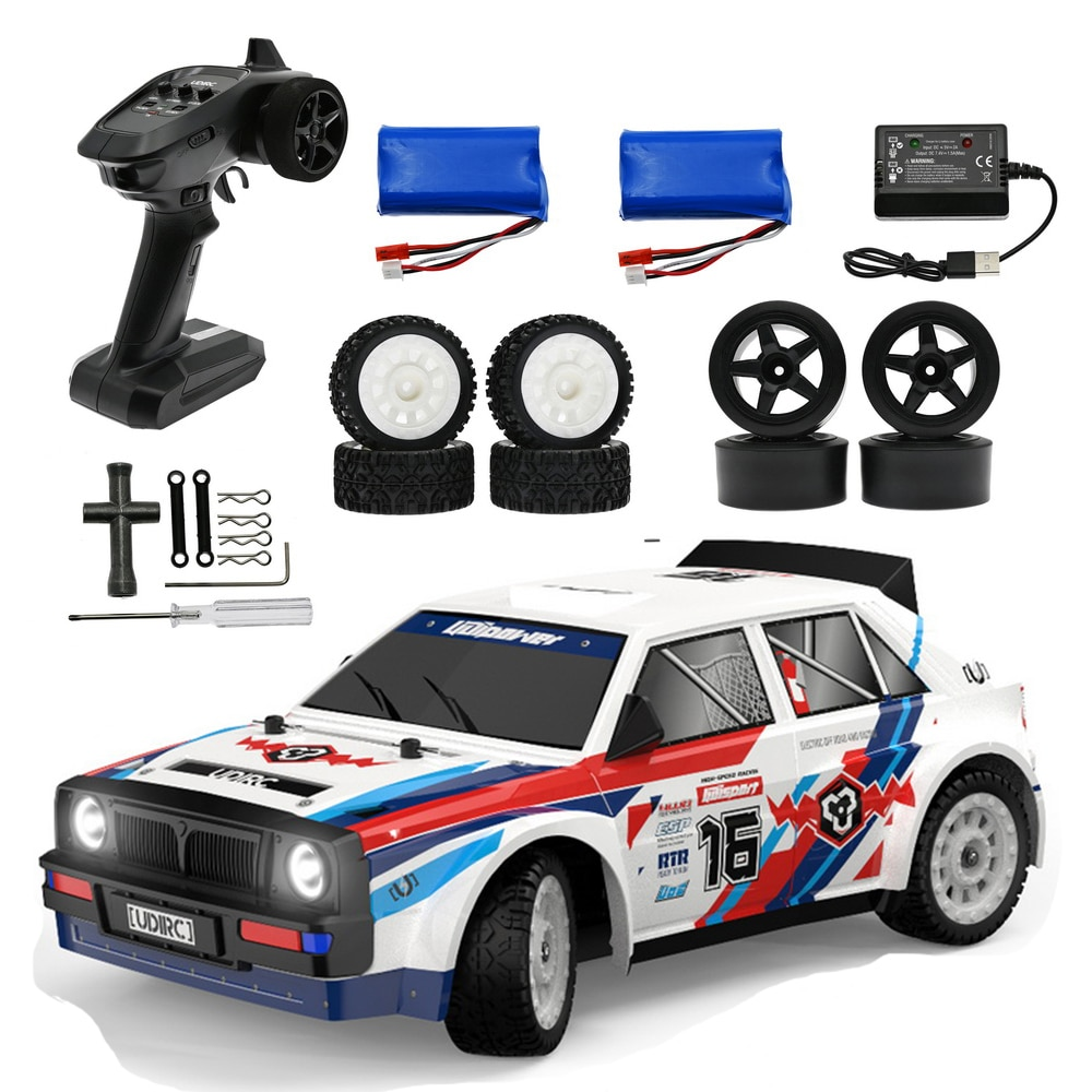 UDIRC SG 1:16 Pro1604 2.4G 4WD RC High Speed Racing Car Brushless Rally Vehicle Road Stunt Car Radio Control Model Gifts Toys