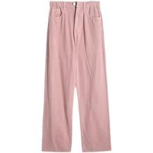 Autumn/winter 1fyou Women's Pink Wide Leg Jeans Women's Fashion Ins Straight Tube Loose High Waist D
