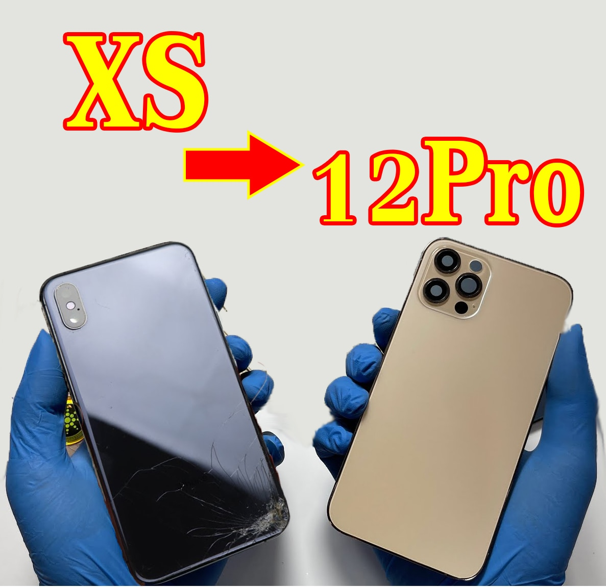 Promo OEM Chassis For iPhone Xs upgrage to iPhone 12Pro Housing,for iPhone Xs Housing like 12,Cover for iPhone xs.Replacement parts