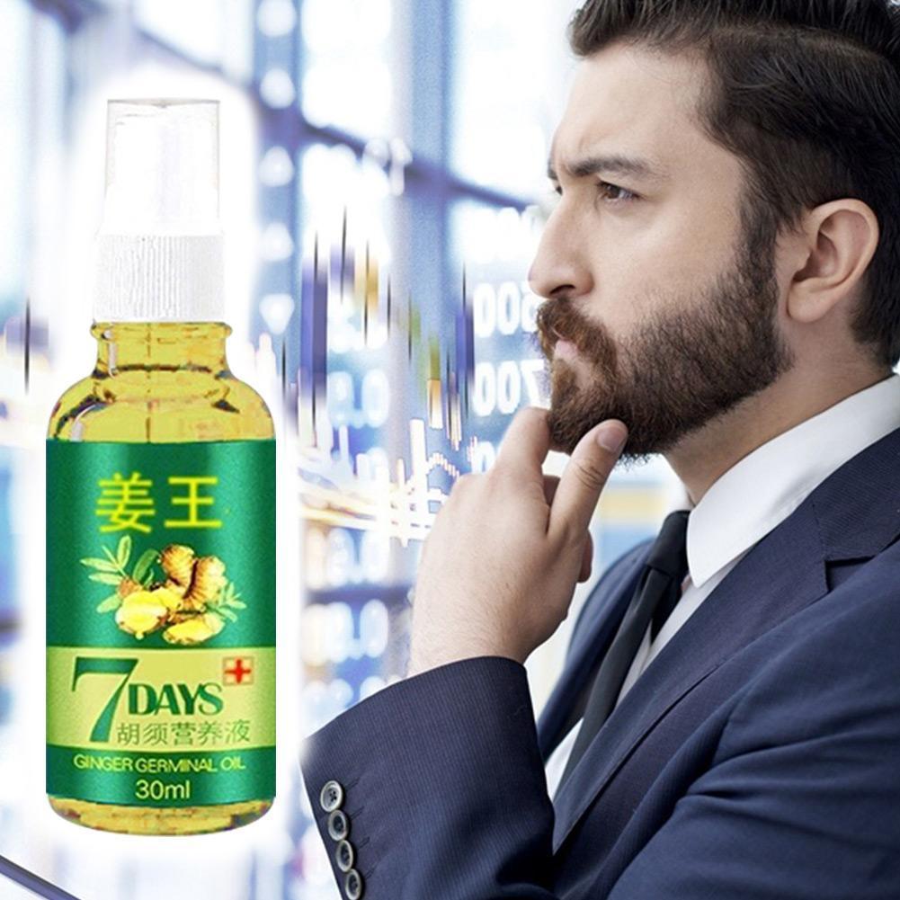 209Hot Verkäufe Unisex Anti Haarausfall Behandlung Serum Haar Ingwer Haar Öl Frauen Nachwachsen Wachsenden Extrakt Bart Pflege Männer Orgel s9K9