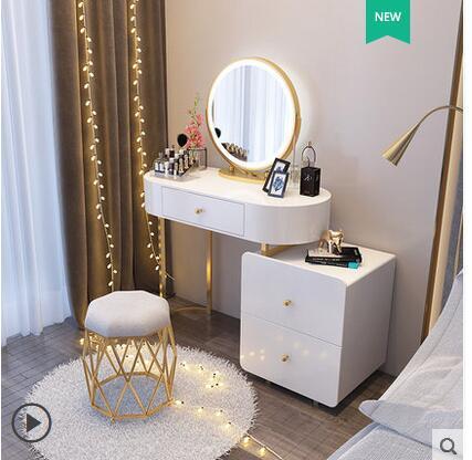 Светильник лый роскошный туалетный столик в спальню сетчатый красный туалетный столик INS современный сжатый приемный шкаф один столик для ...