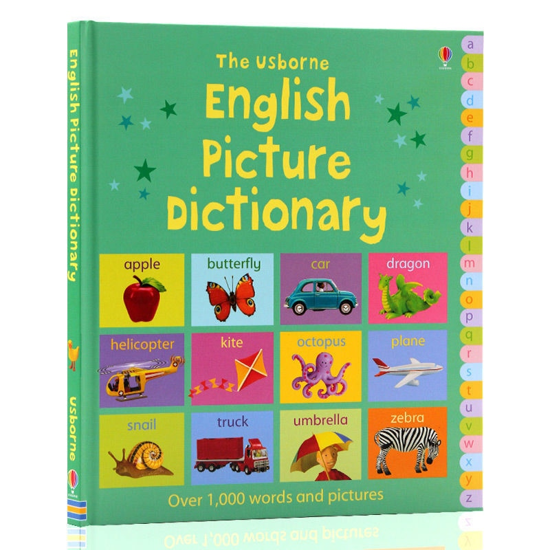 Фото - English Books Original Children's Enlightenment English Picture Dictionary English Picture Dictionary Audio children Kids Book my first english pict dictionary on holiday
