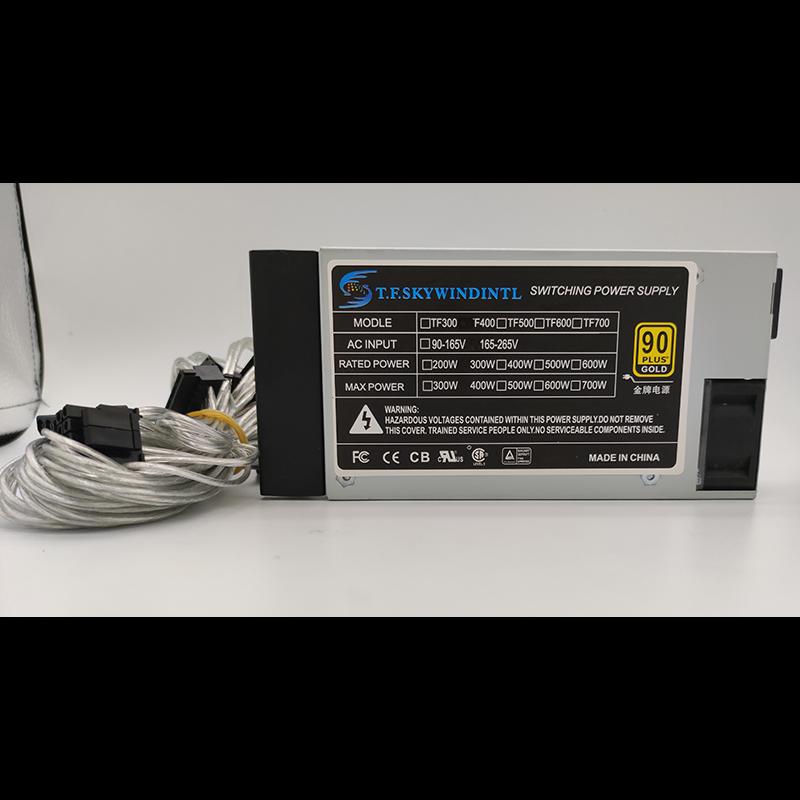 Peak 400W Small 1U full module Modular power Supply for Cash Machine POS Machine NAS multi-drive silent 1U ITX FLEX PSU new psu for xinhang flex itx k39 k35 s3 e200 small 1u rated 350w peak 400w power supply xh 3501psu fsp270 60le fsp250 50gub