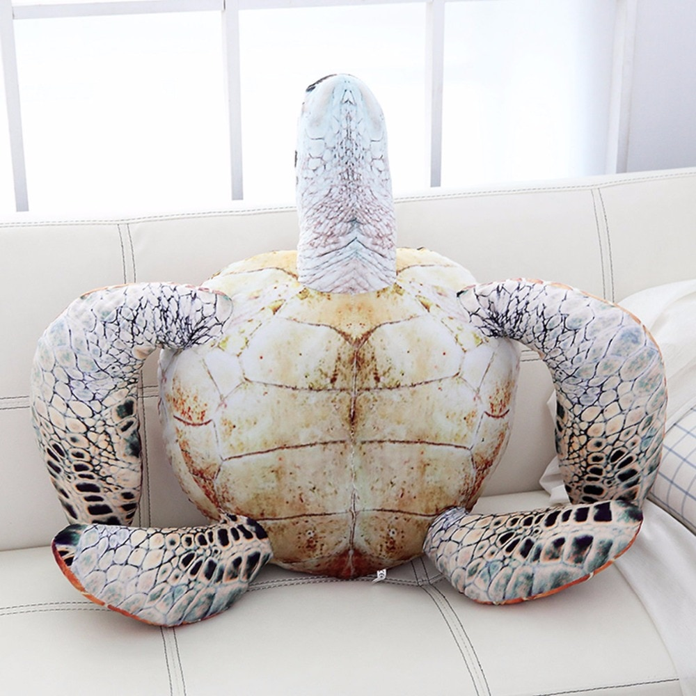 Hot 20cm/30cm/40cm/50cm/70cm Lovely Ocean Sea Turtle Plush Toys Soft Tortoise Stuffed Animal Dolls Pillow Cushion Gifts For Kids  - buy with discount