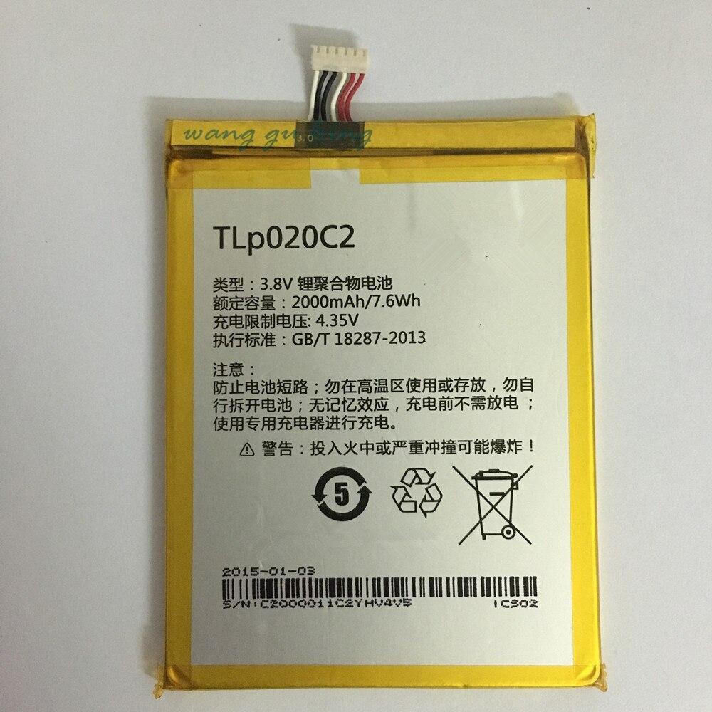 Batería para teléfono móvil TLP020C2 para Alcatel Idol x1s 6034R S950 Idol x 6037y 6040x6032 TCL S950