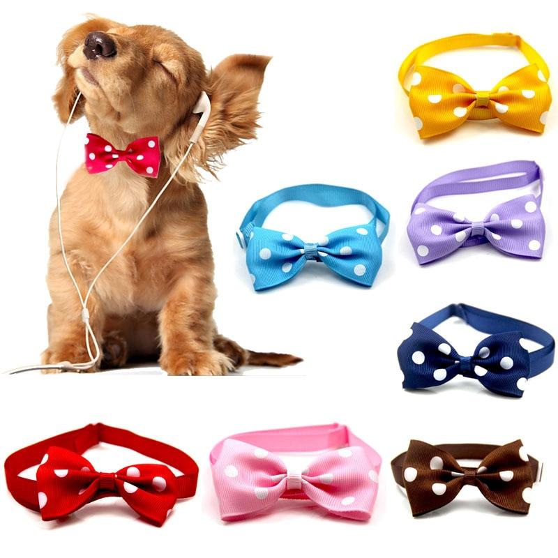 Collar Multicolor para mascotas... pajarita para perro de corbata para mascota de...