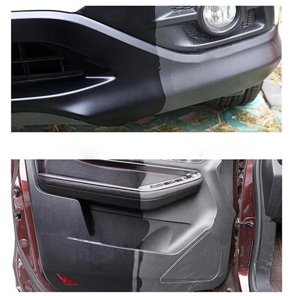 100ml Plastic Parts Retreading Agent Wax Auto Interior Renovated Wax Coating Plastic Car Gloss Clean