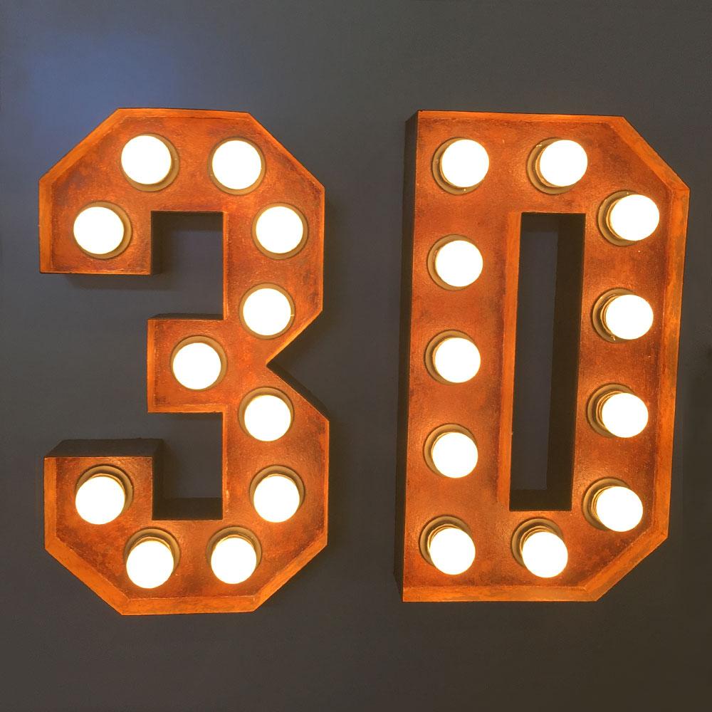 Personalized 3D Marquee Letters Light Luminous Signage Channel Letter Led Aluminum Dimensional Sign Storefront Face-lit Bar Shop