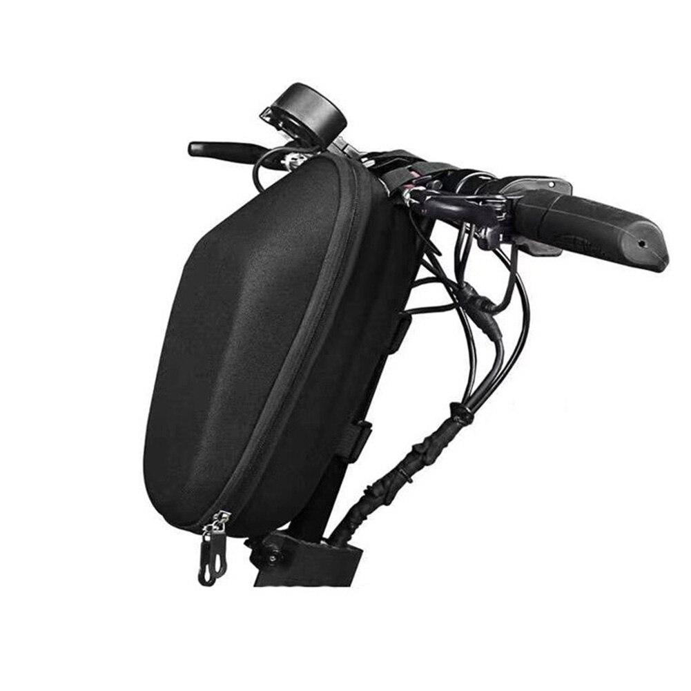 Bisiklet elektrikli Scooter kafa çantası su geçirmez saplı çanta depolama sert kabuk elektrikli Scooter aksesuarları