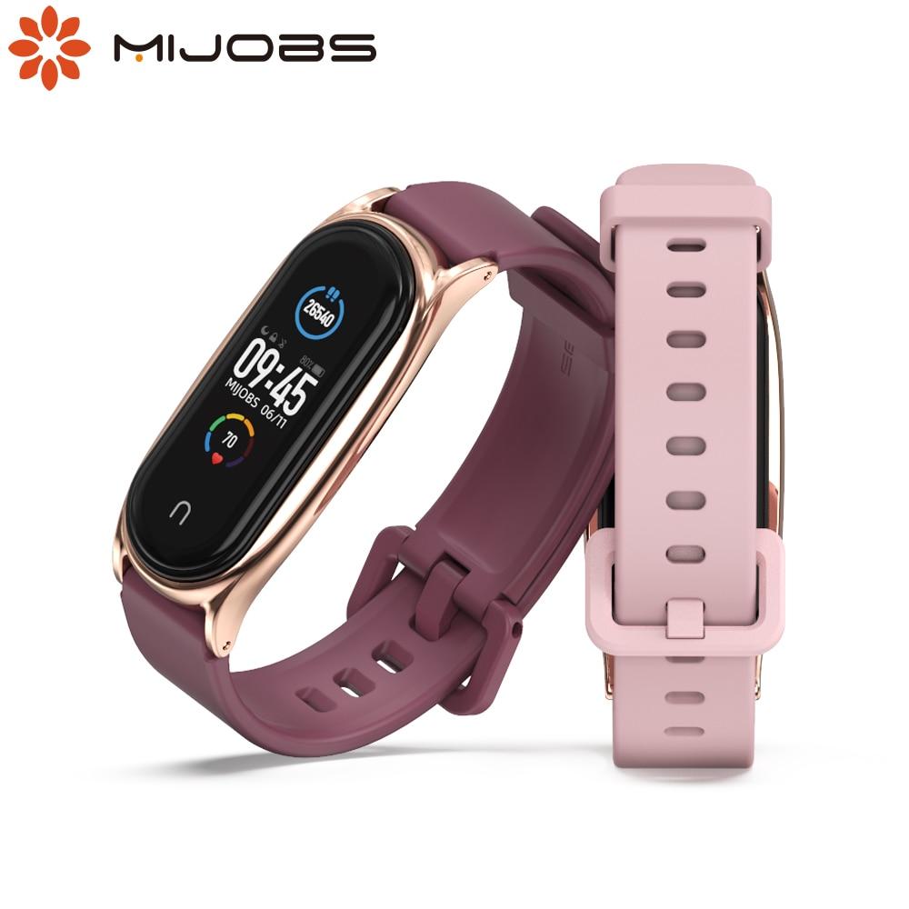 Strap for Mi Band 6 5 4 3 Wristband for Mi Band 5 Strap Wrist Belt for Xiaomi Mi Band 4 Bracelet Correa Miband 6 Xiomi Pulseira