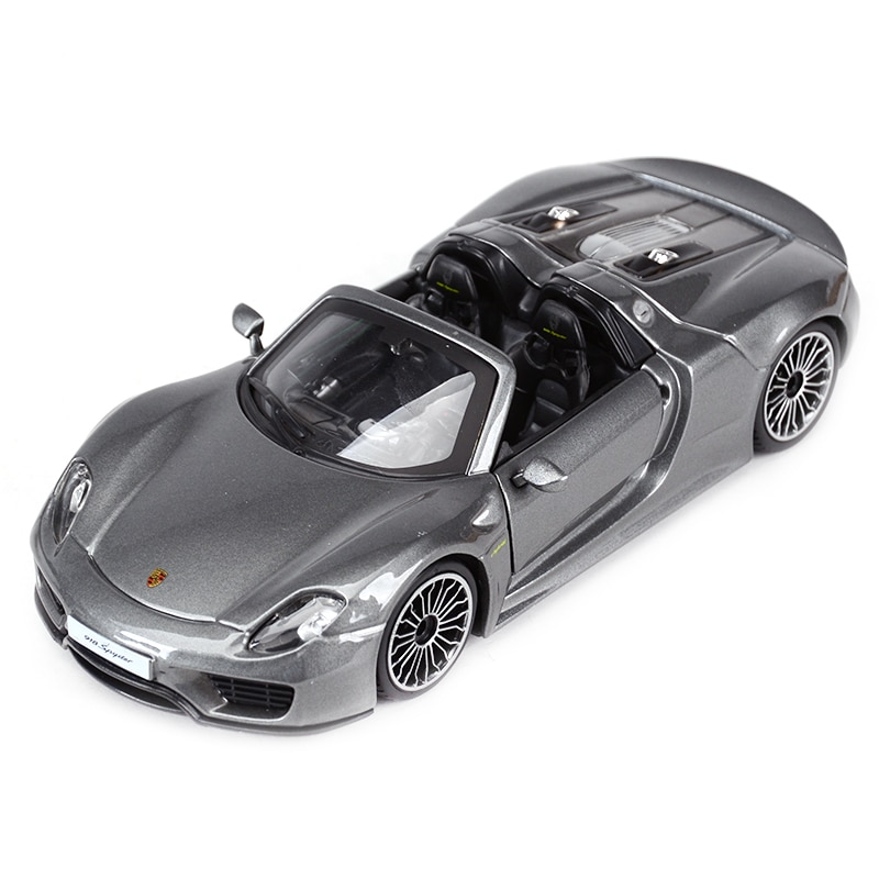 Фото - Bburago 1:24 918 Spyder Sports Car Static Die Cast Vehicles Collectible Model Car Toys bburago 1 24 audi rs5 coupe sports car static die cast vehicles collectible model car toys