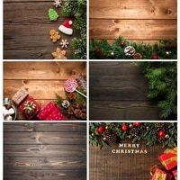 shengyongbao christmas backdrop wood board light winter snow gift star vinyl photography background for photo studio 20826sd 04