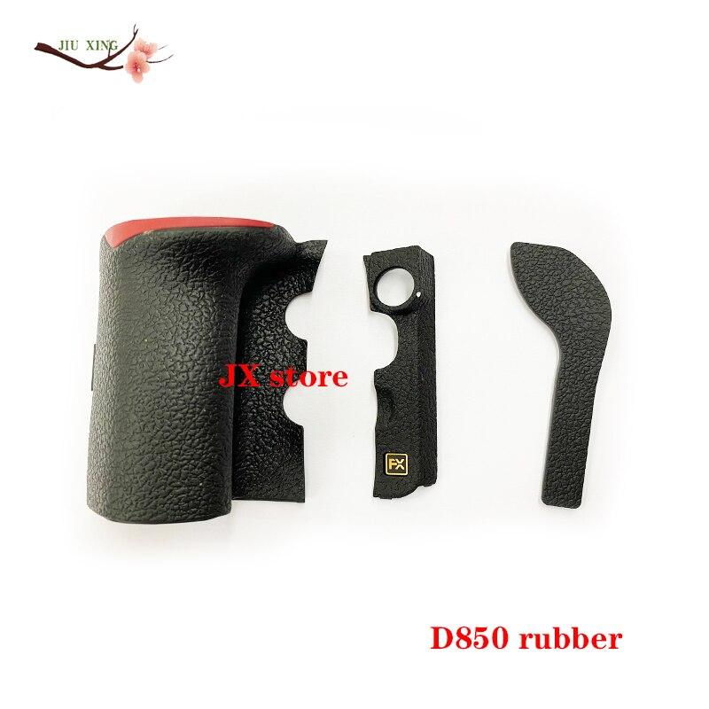 جديد الأصلي ل نيكون D850 الجسم المطاط مجموعة من 3 قطعة قبضة الجانب الأيسر FX الإبهام غطاء مطاطي إصلاح أجزاء