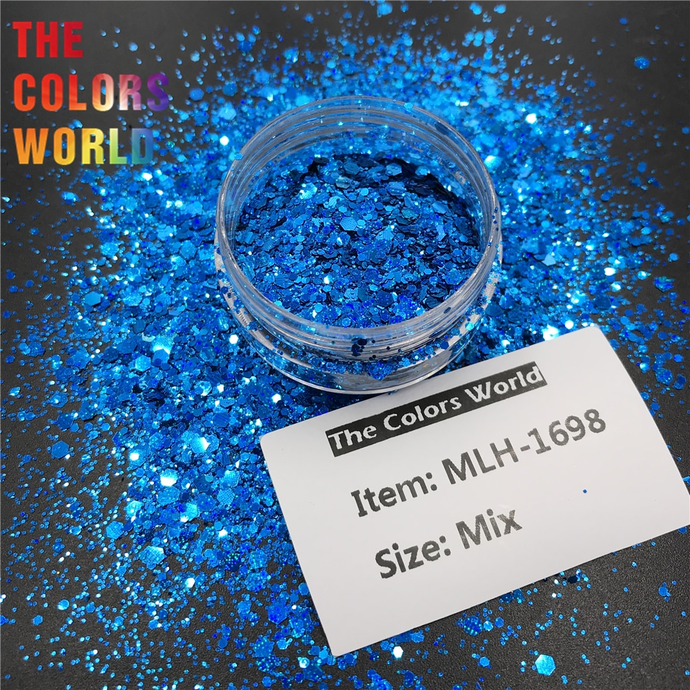 TCT-540 Chunky Nail Glitter Nail Art Decoration arte do prego Manicure ongle Makeup Handwork Nails Accesorios