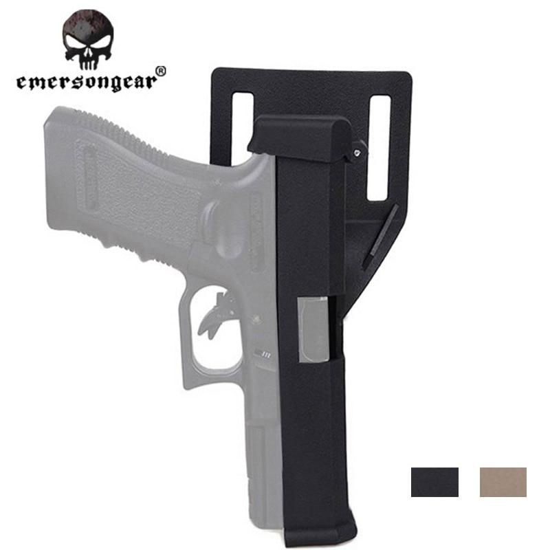 Emersongear Airsoft IPSC Конкурентная кобура быстросъемная кобура автоматическая загрузка фиксатор кобуры для Glock 17