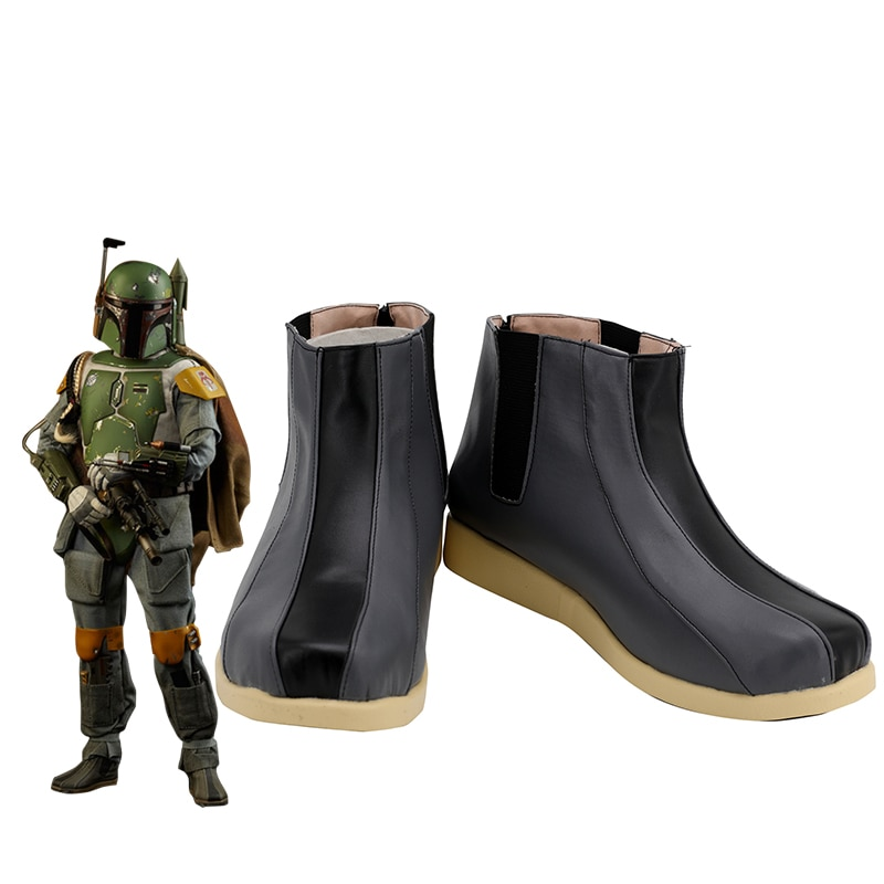 Star Cosplay Wars Boba Fett botas Zapatos adultos hombres Halloween carnaval fiesta zapatos personalizados