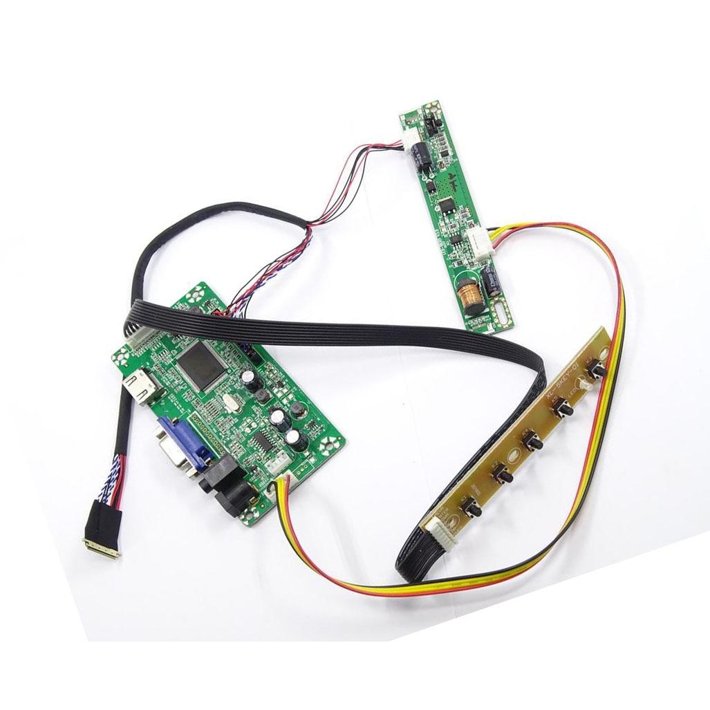 ل M116NWR4 R0 VGA EDP سائق 1366 × 768 لوحة تحكم LCD لتقوم بها بنفسك HDMI-متوافق رصد LED 30pin شاشة عرض 11.6