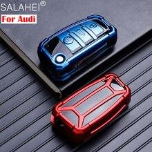 Nouvelle Voiture TPU Etui Clés Shell Pour Audi A1 A3 A4 A5 Q7 A6 C5 C6 TT Q3 Q7 S3 Anti-Goutte porte-Protection de voiture-Style Accessoire