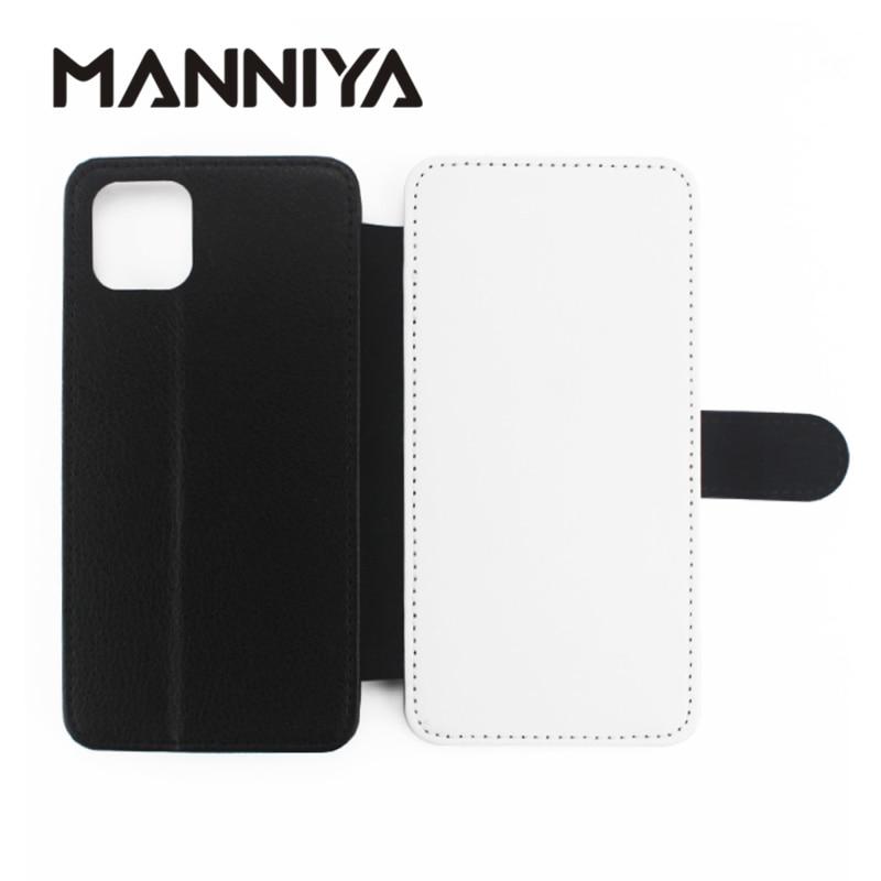 MANNIYA فارغة التسامي الوجه غطاء جلد آيفون 12 برو ماكس 11 برو ماكس 7 8 X XS XR XS ماكس شحن مجاني! 100 قطعة/الوحدة