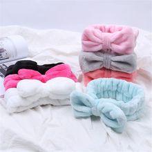 Bandeau croisé en molleton de corail   12 couleurs, bandeau pour cheveux, maquillage du visage, cosmétique, bandeau pour cheveux, Turban doux élastique