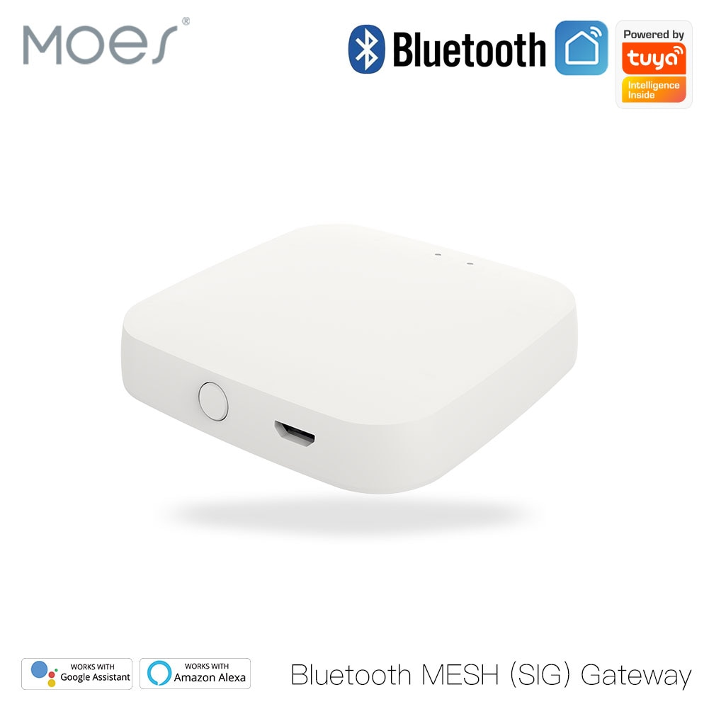 Moes Tuya بلوتوث بوابة المحور الذكية سيج شبكة واي فاي الحياة الذكية APP التحكم عن بعد العمل مع أليكسا جوجل الرئيسية