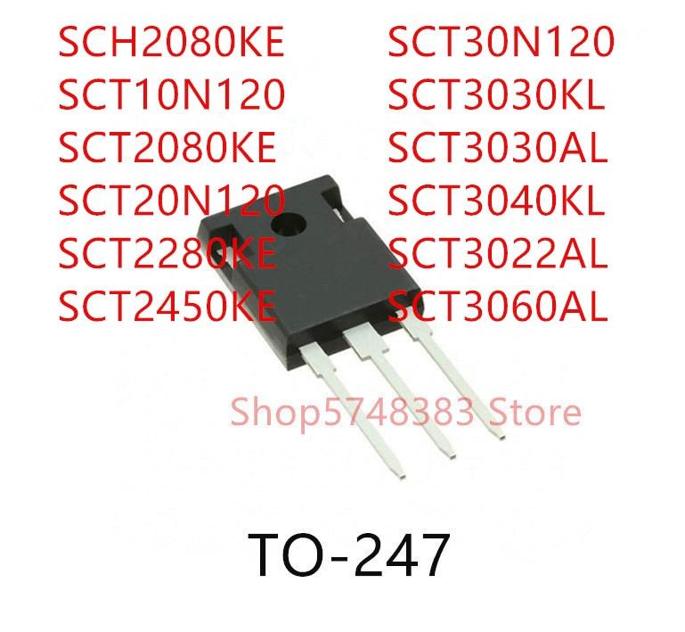 10pcs-sch2080ke-sct10n120-sct2080ke-sct20n120-sct2280ke-sct2450ke-sct30n120-sct3030kl-sct3030al-sct3040kl-sct3022al-sct3060al