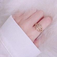 14K Gold Full Zircon Ring for Women Bizuteria Anillos De Wedding 14K Topaz Gemstone 2 Carat CZ Diamant Engagement Ring Jewelry