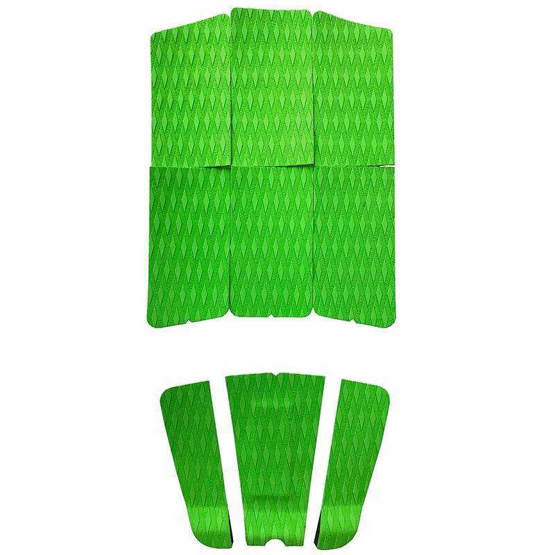 Коврики для серфинга KXKZREN EVA, Нескользящие Коврики для серфинга с рукояткой Kicker, доски для серфинга, весло для серфинга, 9 дюймов