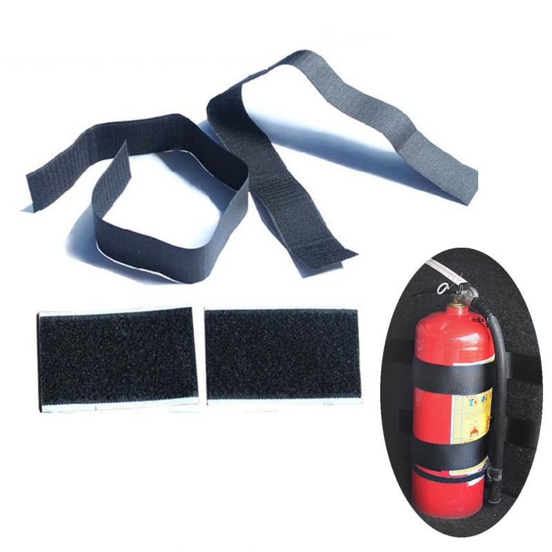 Автомобильный огнетушитель, фиксированный ремень для хранения багажника, полоски на липучке для отделки багажа, фиксированные ремни, автом...