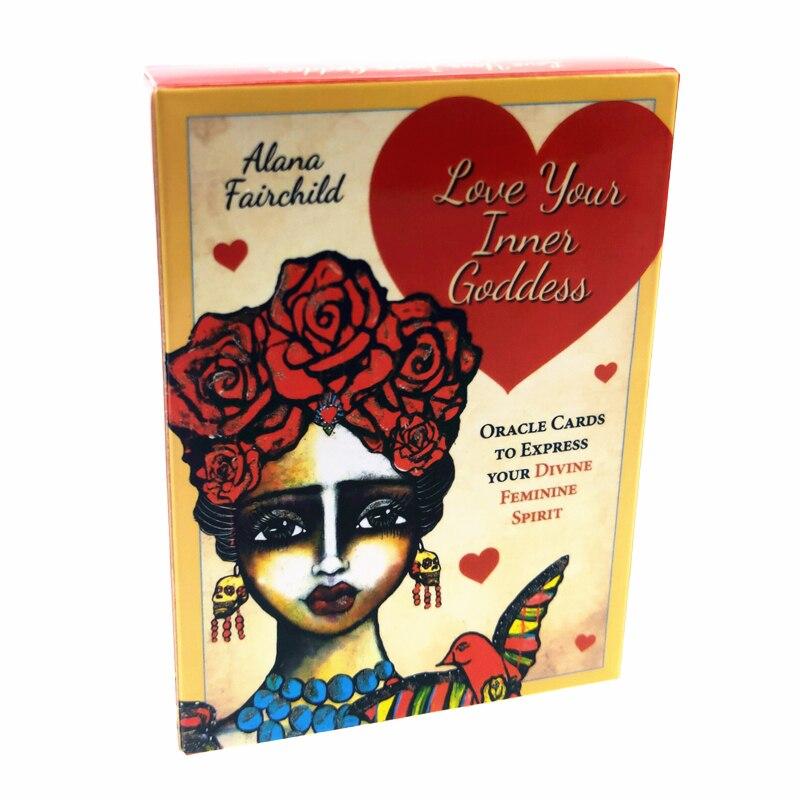 2020 новые карты любви вашей внутренней богини oracle, полные английские таинственные карты удачи Таро, игра для девочек, семейная карточная игр...