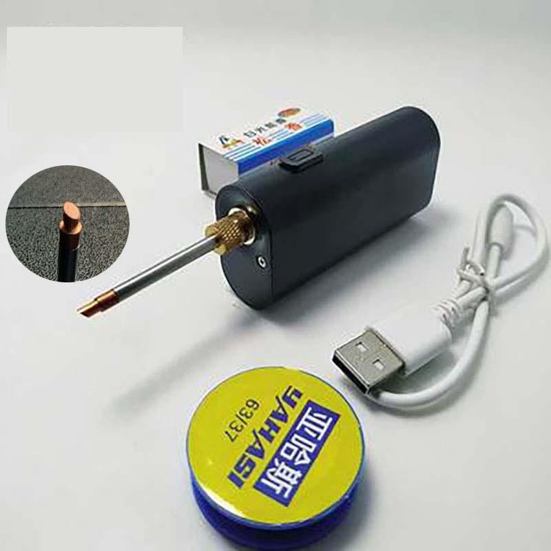 5V  portable USB soldering iron wireless charging soldering iron soldering tool Android interface charging