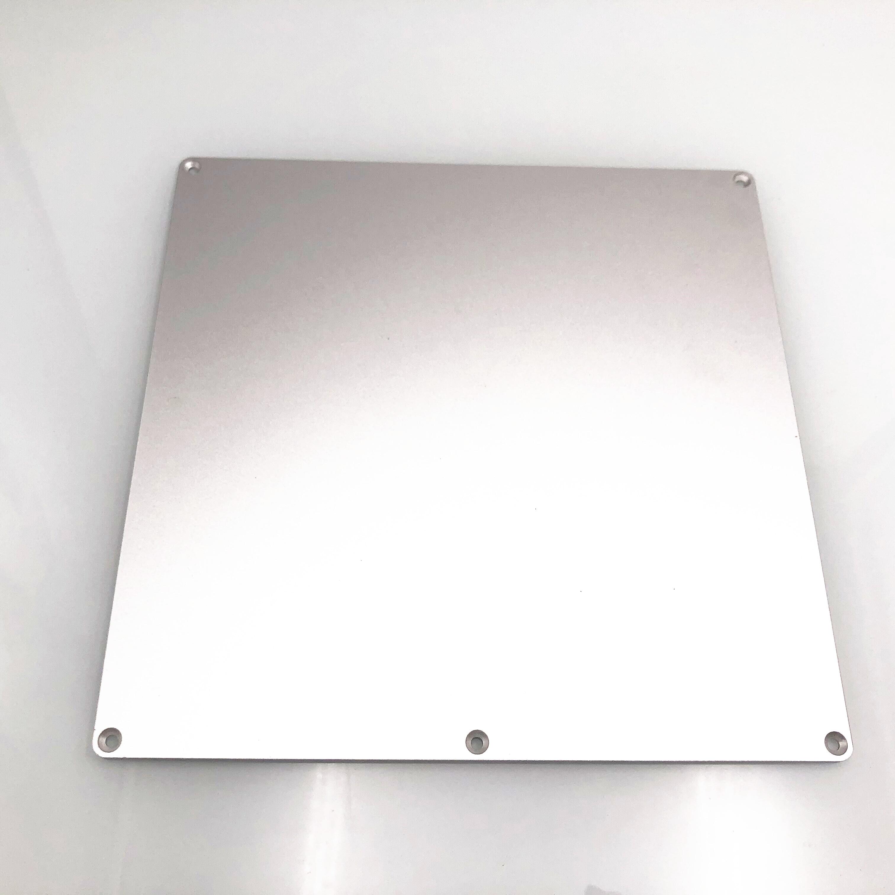 1 Uds. Placa de aluminio anodizado de actualización Y carro 3D para impresoras Creality Prusa I3 Anet A8 3D