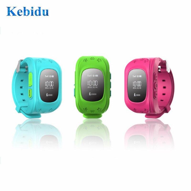 Kebidu Antipérdida Q50 rastreador Infantil SOS monitoreo inteligente posicionamiento teléfono inteligente niños bebé reloj pulsera rastreador teléfono