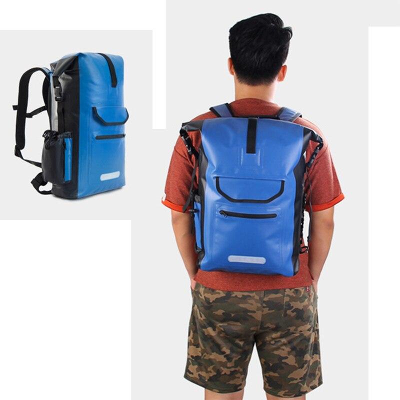 2019 30L Водонепроницаемый водозащитный Каякинг ПВХ сухой мешок пакет вещевой мешок Водонепроницаемый треккинг Rolltop рюкзак треккинг река сумка для рейсов