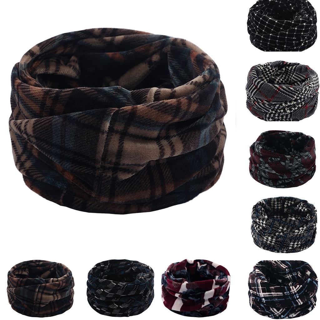 Bufanda mujer cuadros, doble capa, cuello, lana más cálida, bufanda tejida, bufandas, chal, capucha, abrigo de invierno para mujer, echarpe hiver femme #30
