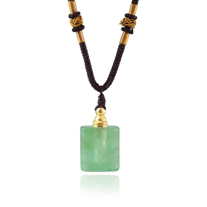 1-шт-натуральный-зеленый-флюорит-браслеты-с-подвесками-кристалл-кварца-исцеление-Камень-Подвески-диффузор-для-эфирных-масел-флакон-духов