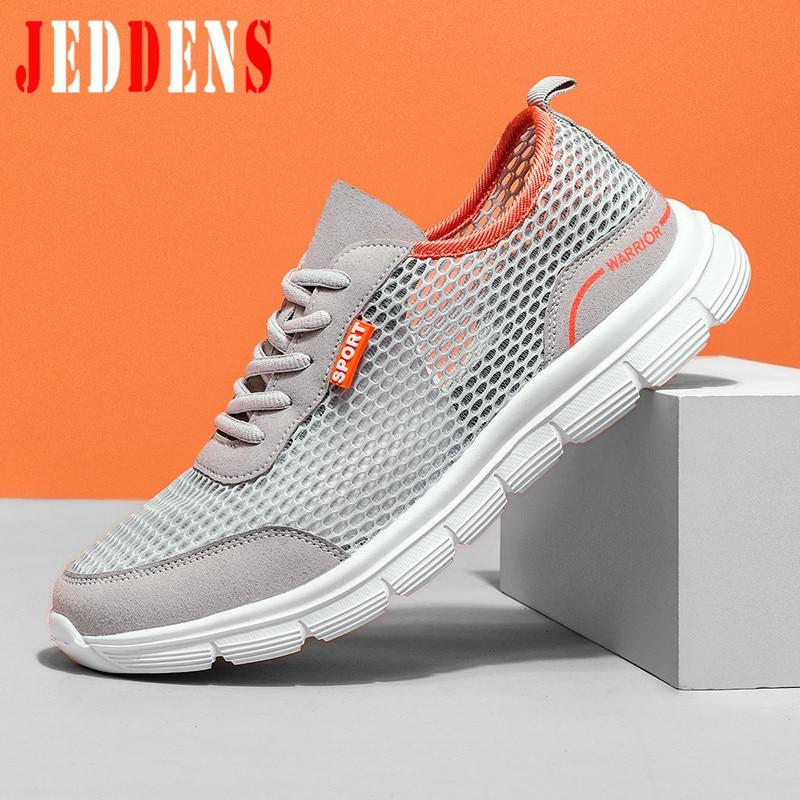 Men's Casual Shoes Male Lace Up Soft Tennis Shoe Mesh Men Trainers Big Size Low Top Summer Shoe Man Flat Lightweight Sneakers M9