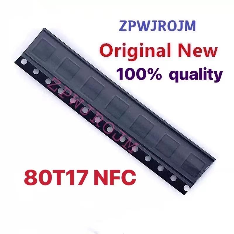 1-10 шт. 80T17 NFC IC для samsung S8 S9 S9 + S10 S10 +
