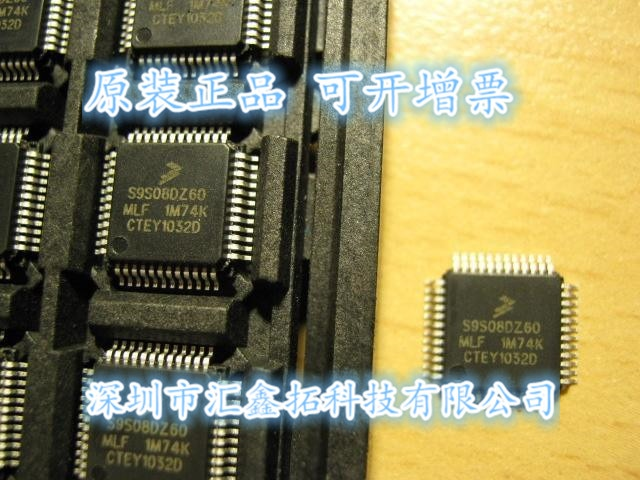 5pcs/lot MC9S08DZ60MLH MC9S08DZ60 MC9S08DZ60MLF  QFP 5pcs lot original as19 h1g as19 h1 as19 h as19 ecmos qfp 48 best quality new