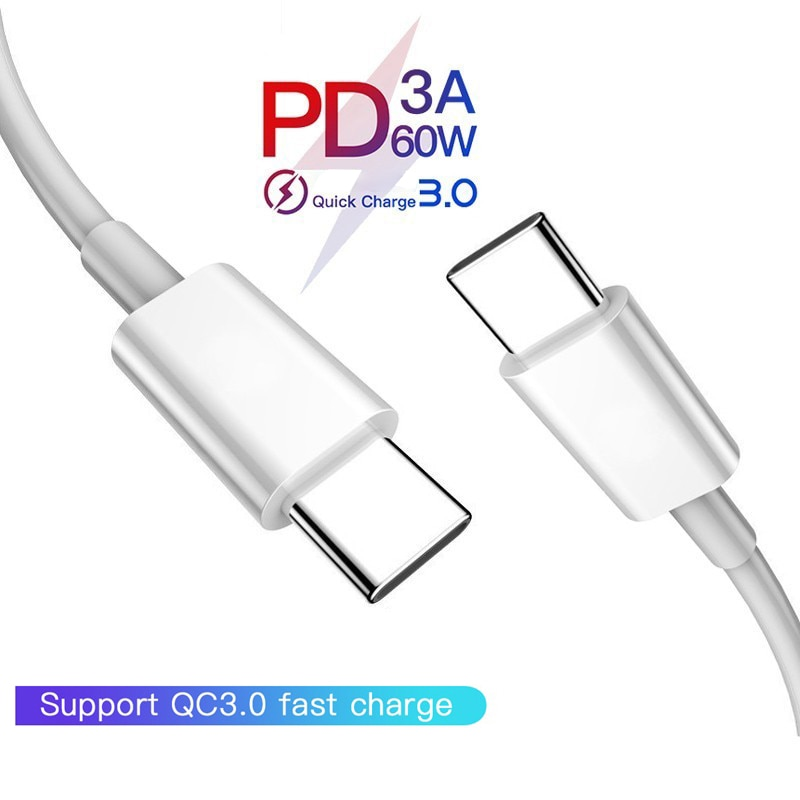 Cable USB 3,1 tipo C a USB C para Samsung S10, S9,...