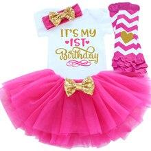 Its My 1st 2ème anniversaire   Tenues pour filles, vêtements Tutu pour petites filles, ensembles de vêtements pour tout-petits, moitié-an