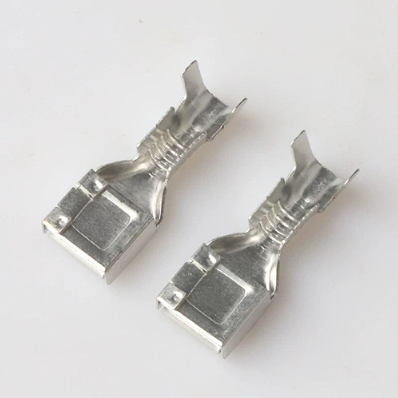 Free shipping 100pcs 7.8mm DJ627A-7.8C  AMP Deutsch connector terminals G501
