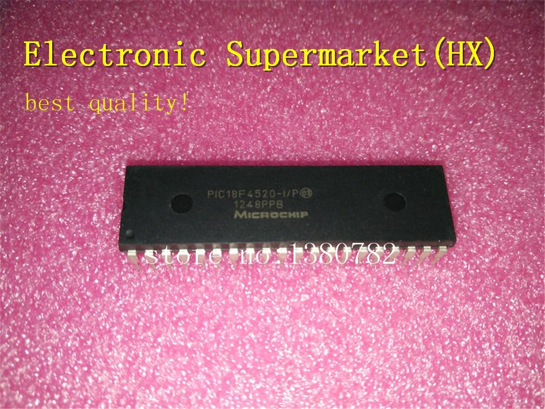 شحن مجاني PIC18F4520-I/P 18F4520-I/P 18F4520 DIP-40 جديد الأصلي IC