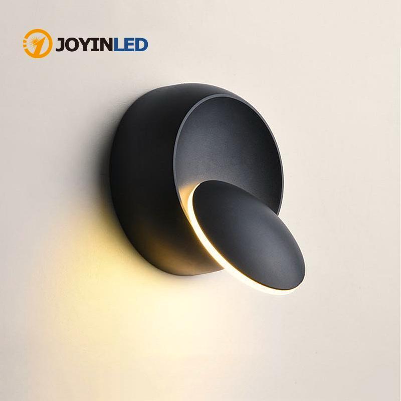 Современные светодиодные панели с вращением на 360 градусов, комнатный панели для дома, панели для ресторанов, домашний декор