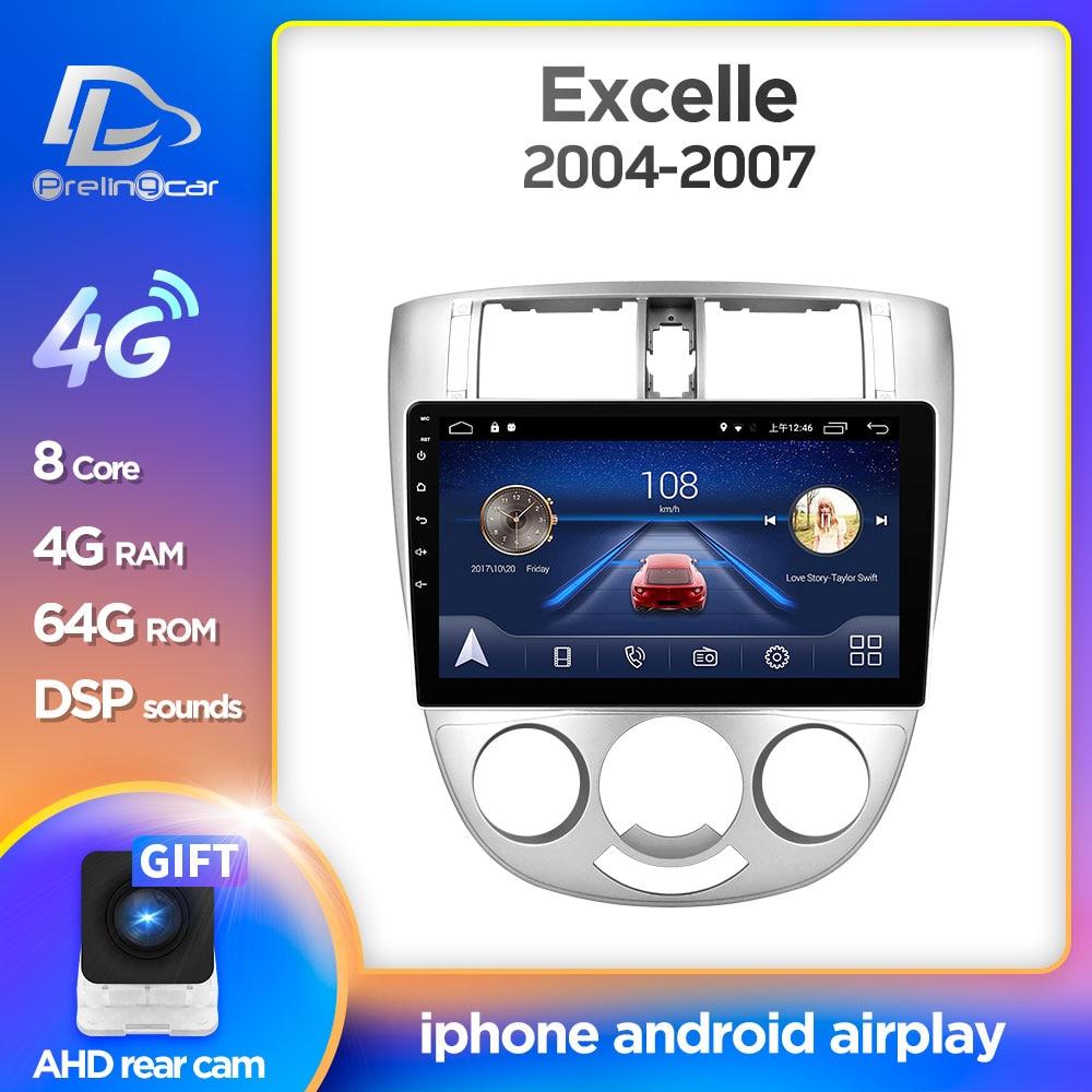 Prelingcar Android 9,0 para Chevrolet Lacetti J200 BUICK Excelle Hrv auto Radio Multimedia Video Player navegación GPS SIN DVD 2Din